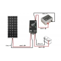 REGULATOR 10A za solarni modul